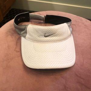 White NIKE Tennis Cap